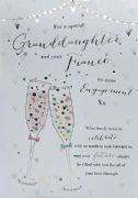 Granddaughter & Fiancé Engagement Card